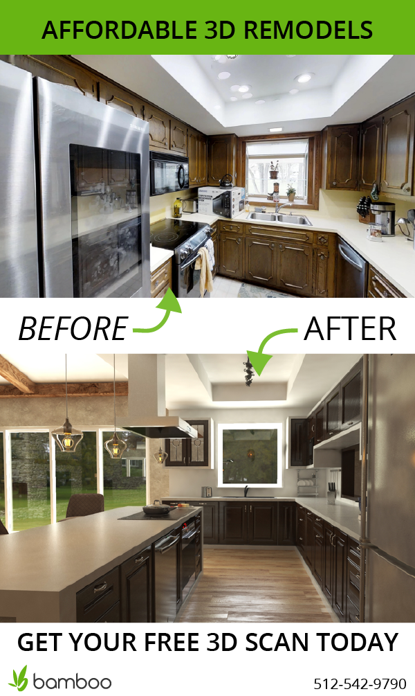 Get A 3d Scan Of Your Existing Kitchen Or Bathroom That You Want