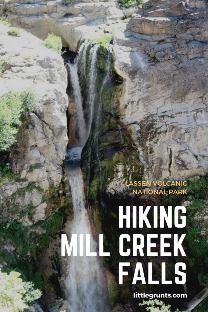 Hiking Mill Creek Falls at Lassen Volcanic National Park  #hiking #lassen #california