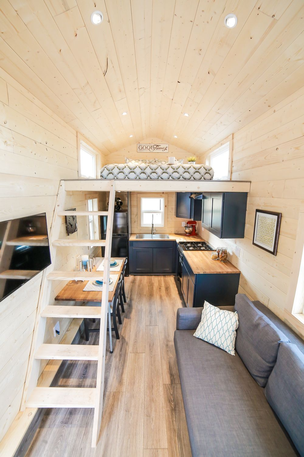 the mansion a 270 sq ft tiny house on wheels designed and built rh pinterest com