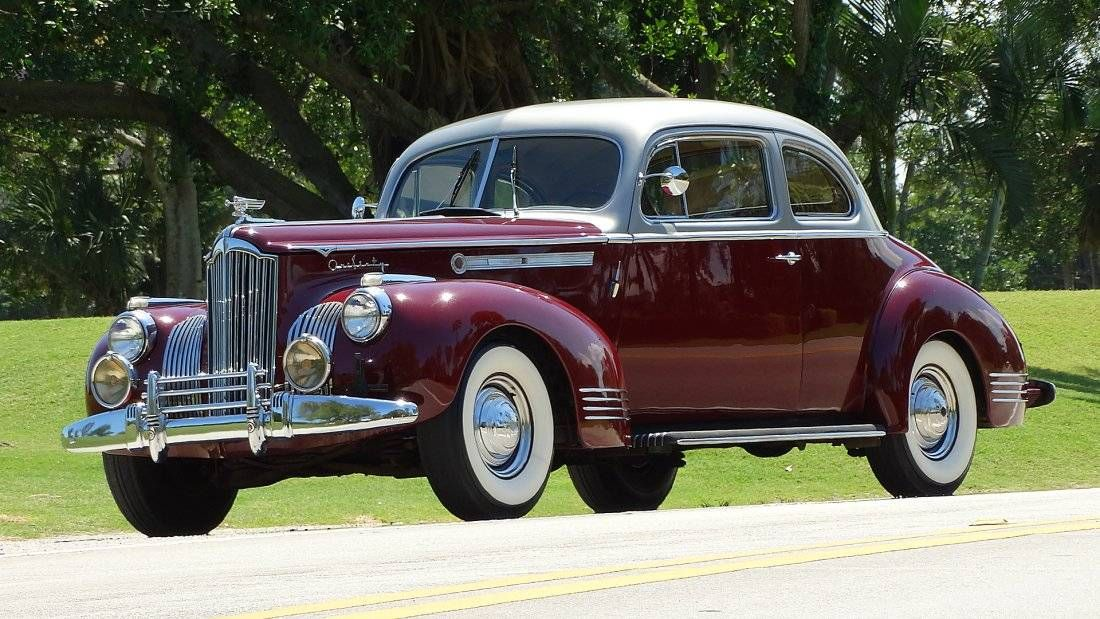 1941 Packard 160 2 Door Coupe For Sale 1743278 Packard Rescue Vehicles Coupe