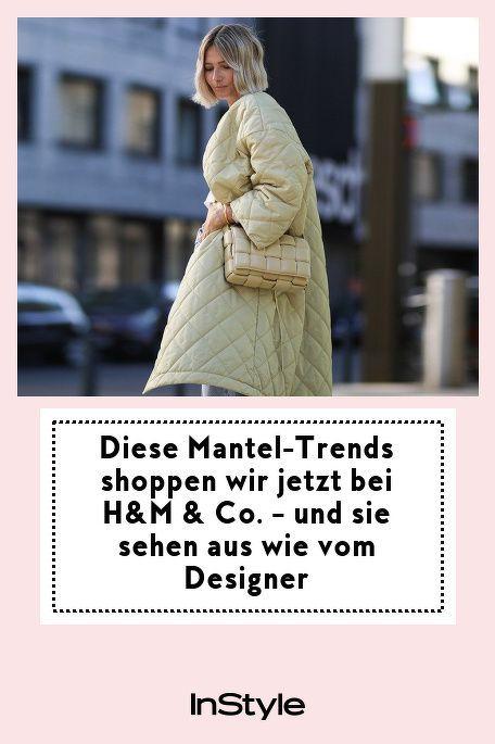 Upgrade im Herbst 2020: Diese Mantel Trends kannst bei H&M und Co. shoppen. Noch dazu sehen sie aus wie vom Designer - eine Investition sind sie auf alle Fälle wert! #instylegermany #instyle #mantel #manteltrend #trend #designer #shoppen #fashion #instylefashion
