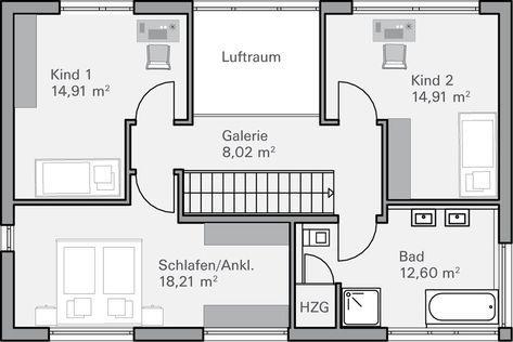 Grundriss Og Fendt Doppelhaus Pinterest Hauodern