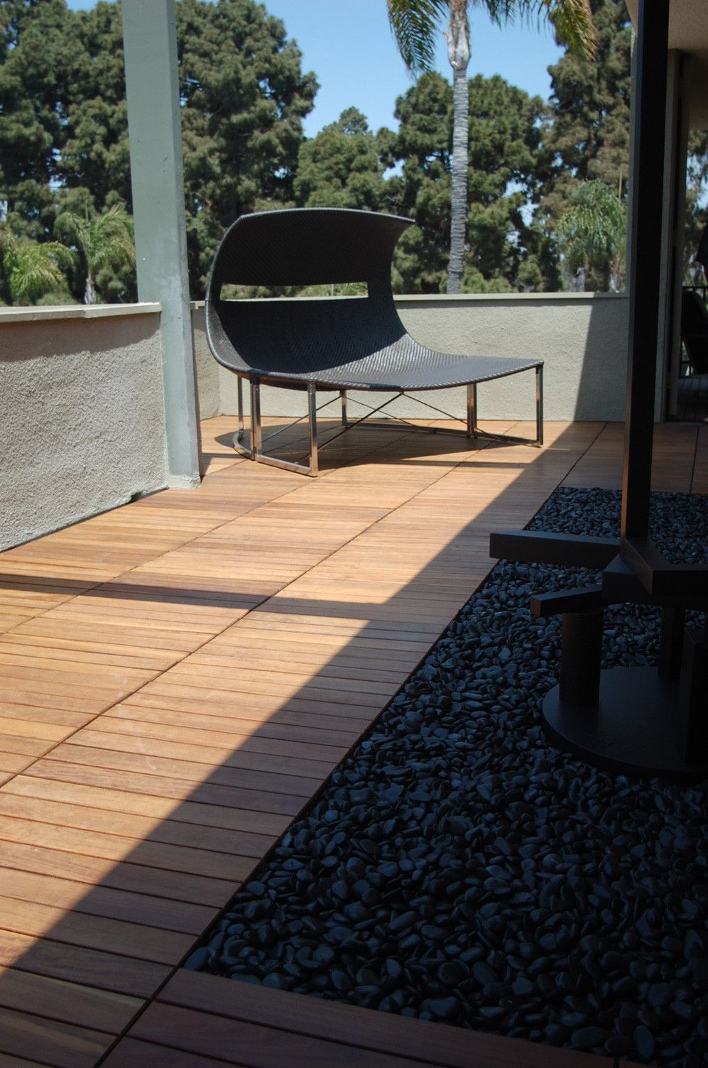 Patio Deck Tiles Recycled Rubber: 12x24 Wood Deck Tile