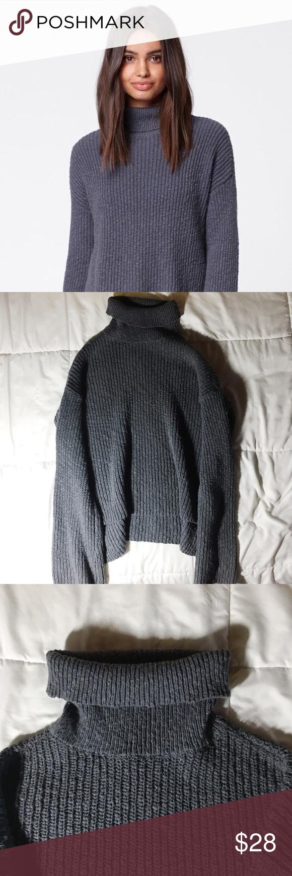 PacSun Slub Turtleneck Pullover Sweater | Pacsun, Fall season and ...