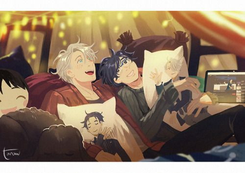 Pillow forts and Chitchats!!! I'll have them as... : I am so weak for Victuuri