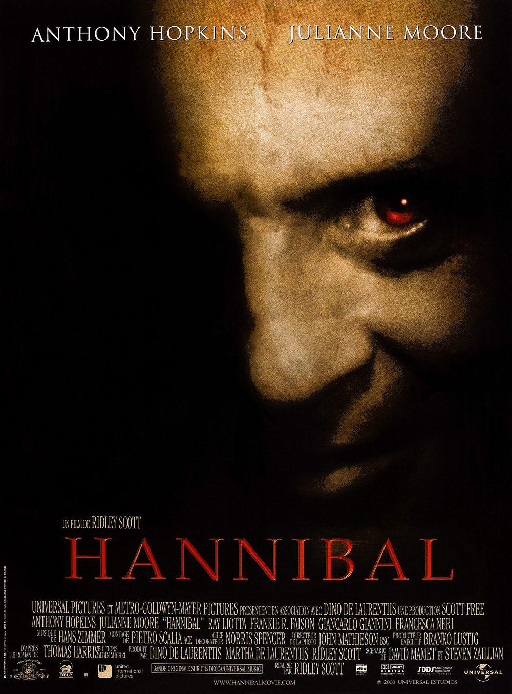 Affiche Hannibal Cinema paradisio, Affiche film, Film