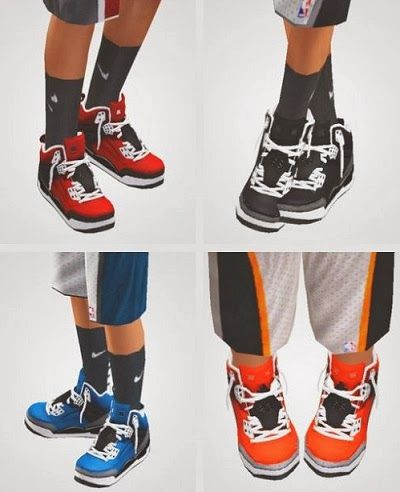 Sims 3 Basketball shoes