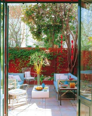 Patios interiores, un lugar para evadirse 10Decoracion ideas