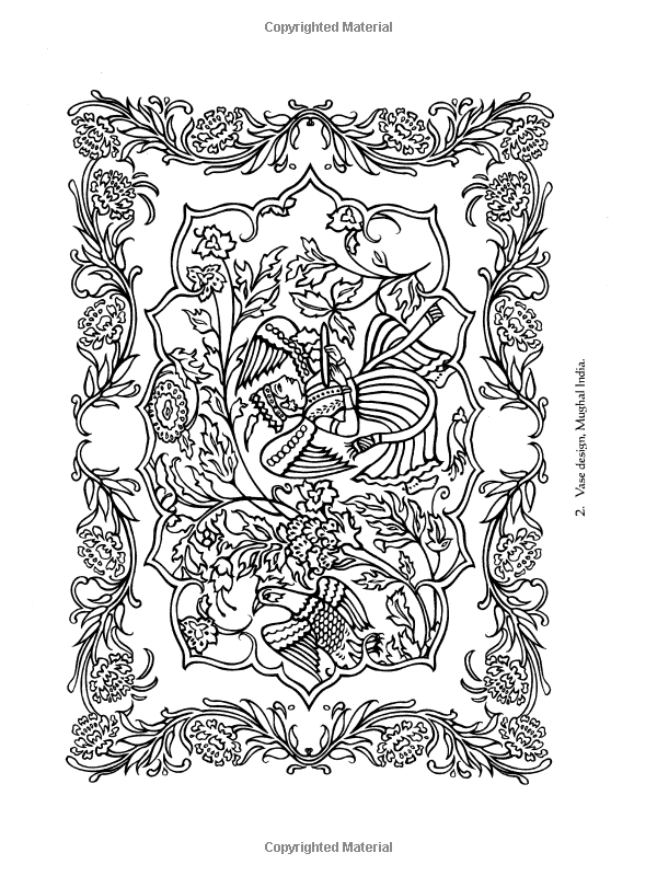 Traditional Designs From India Dover Design Coloring Books Designs Coloring Books Coloring Books Traditional Design