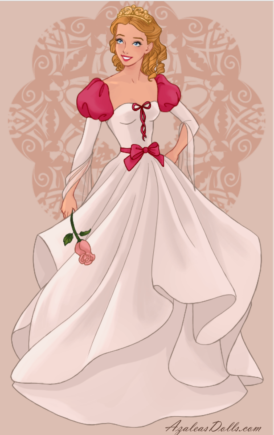 Sleeping Beauty The Princess Of The Fairy Tale In Wedding Dress Design Dress Up Game Princess Cartoon Disney Princess Art Disney Princess Fashion