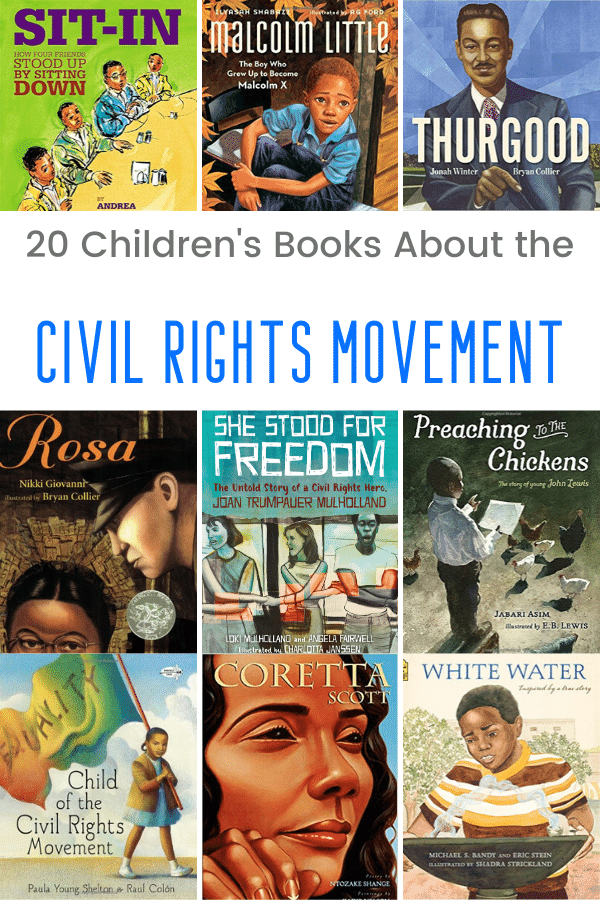 20 Children's Books About the Civil Rights Movement