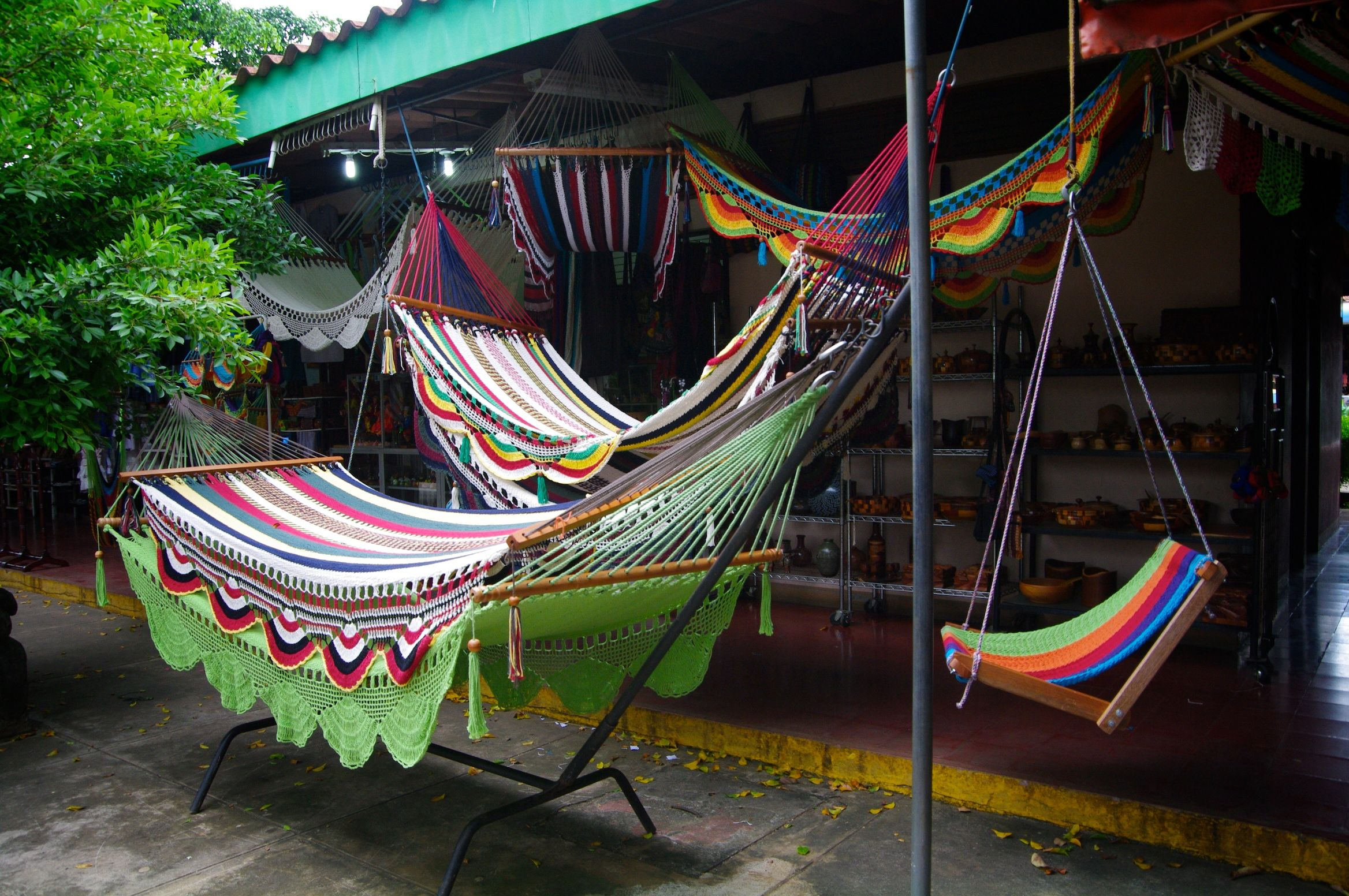 the sale ecuador market stock hammock hammocks outdoor in photo colorful otavalo at craft for handmade