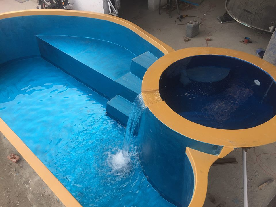 Swimming pool Make in india | Prefabricated Swimming Pool ...