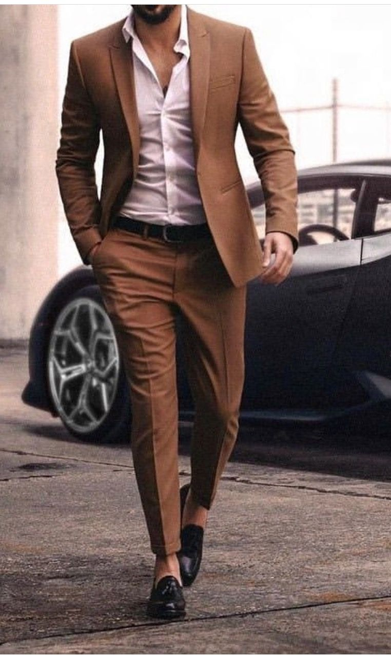 Pin On Brown Suit Outfits [ 1278 x 762 Pixel ]