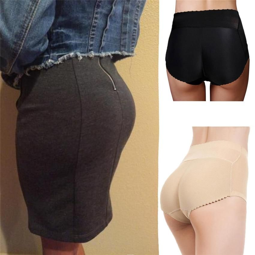 f2bf6d2a3e Myley Hot Shaper Sexy Boyshort Panties Woman Fake Ass Underwear Push Up Padded  Panties Buttock Shaper Butt Lifter Hip Enhancer
