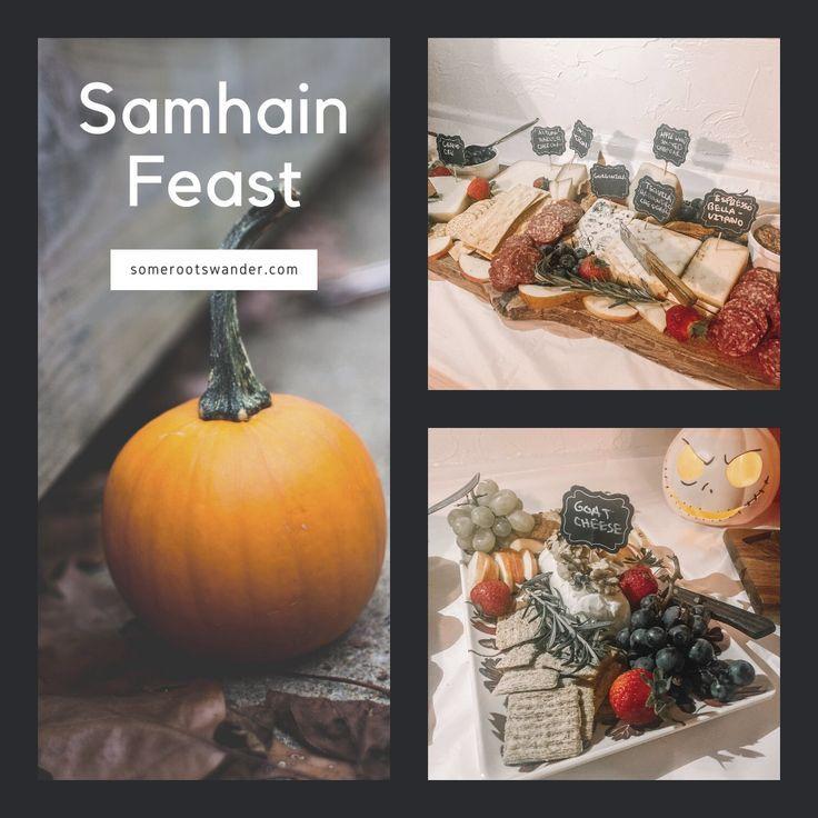 A SAMHAIN FEAST #samhainrecipes