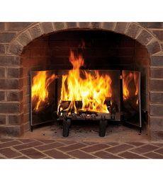heat reflecting fireplace bright reflectors i want this hearth rh pinterest com