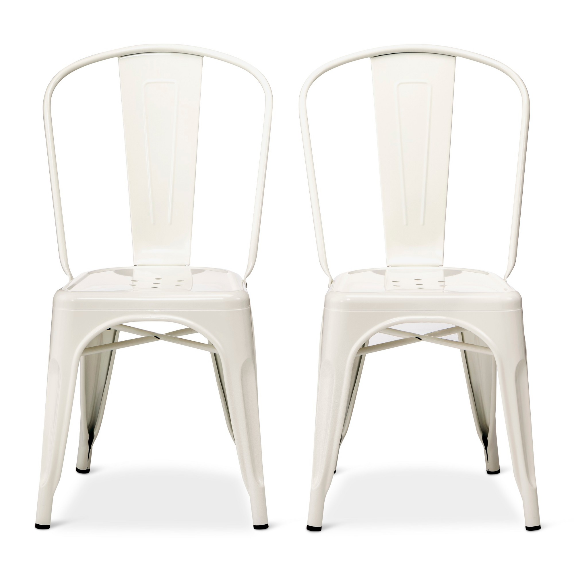 carlisle high back metal dining chair white products in 2018 rh pinterest com