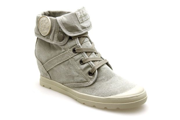 Femme Savane Baskets Compensées Chaussures Palladium Ecuador 13FJcTlK