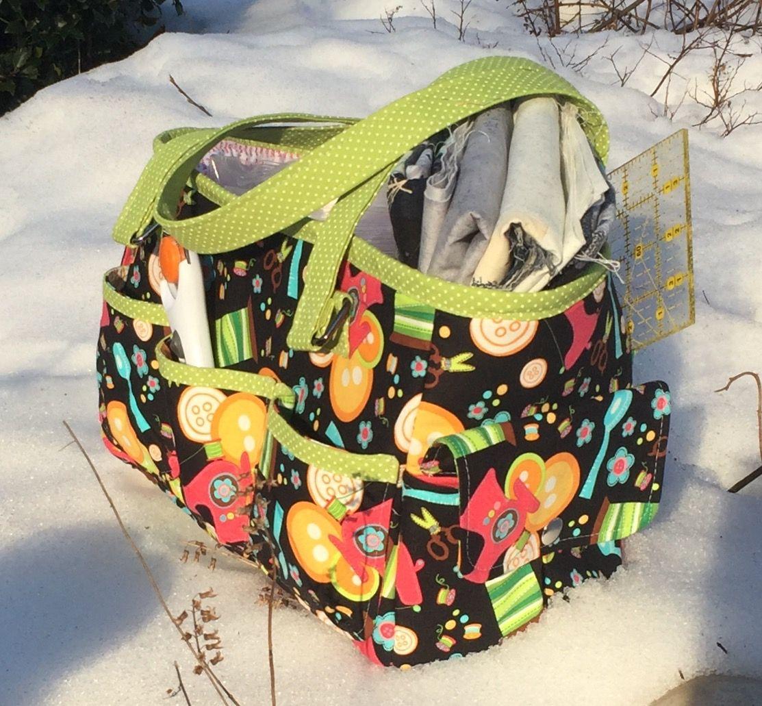 FREE Oslo Craft Bag pattern   Nähen