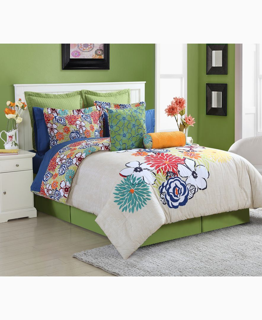 fiesta lucia reversible twin comforter set bed sheets comforter rh pinterest com