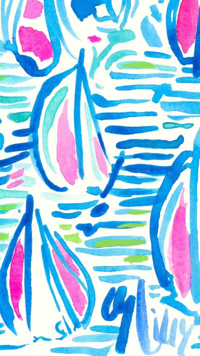 Sail Boats Lilly Pulitzer Iphone Wallpaper Lilly Pulitzer