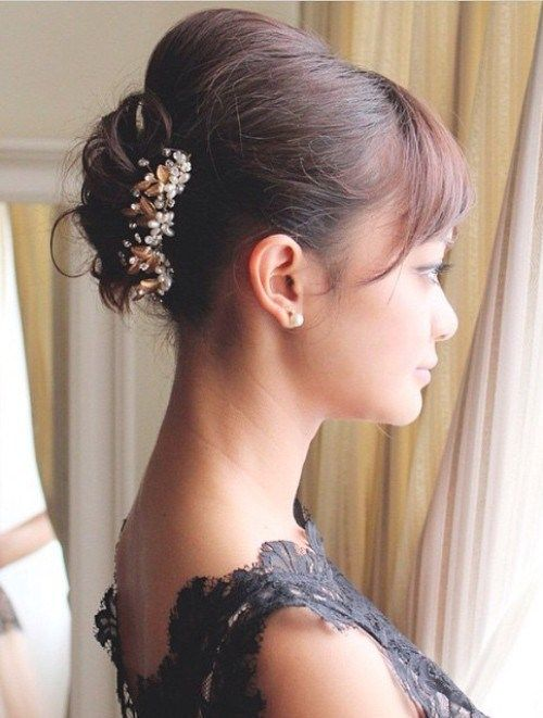 40 best short wedding hairstyles that make you say wow updo 40 best short wedding hairstyles that make you say wow pmusecretfo Images