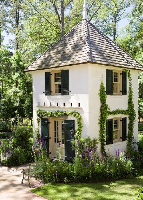 garden cottage spaces home tiny house little cottages rh pinterest com