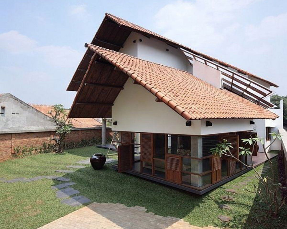 Tropical House Design Indonesia House Of Samples In Indonesian Tropical Home Design Tropical House Design Tropical Houses Architecture House