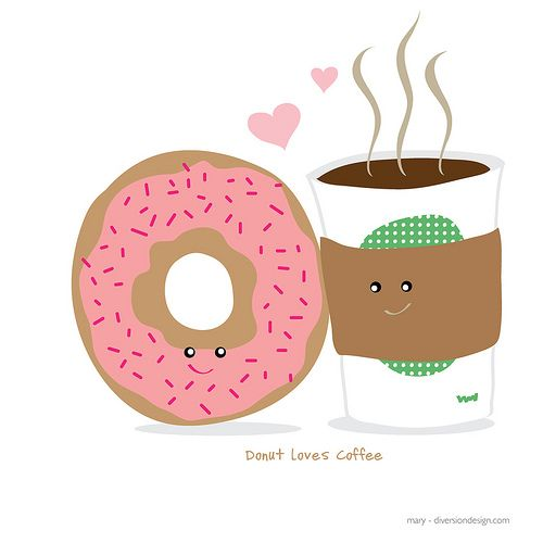 Donuts And Coffee Cartoon Coffee Cartoon Donut Cartoon Donut Pictures