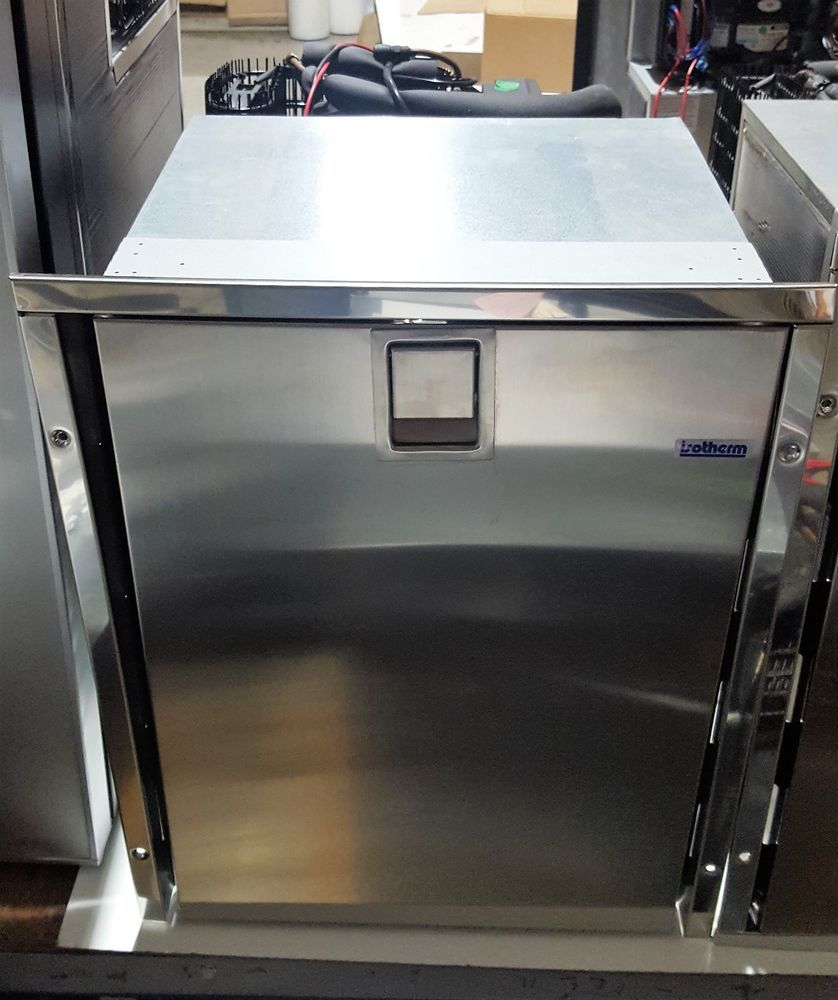 ISOTHERM Marine REFRIGERATOR DR49 Drawer 49 Stainless AC/DC Mod