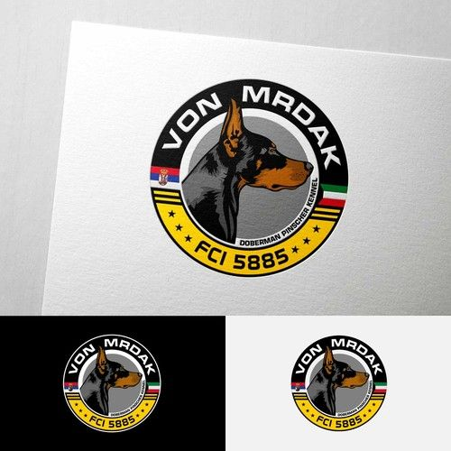 Doberman Kennel that has 1 Branch in Kuwait and another one in Serbia needs an appealing logo