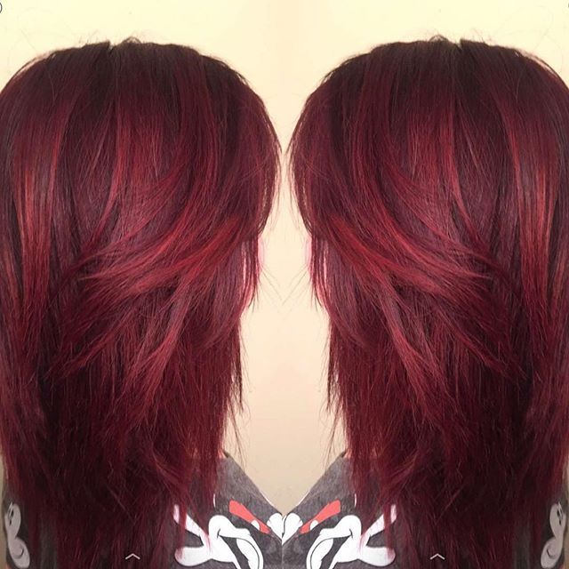 Garnet Red Hair Color Google Search