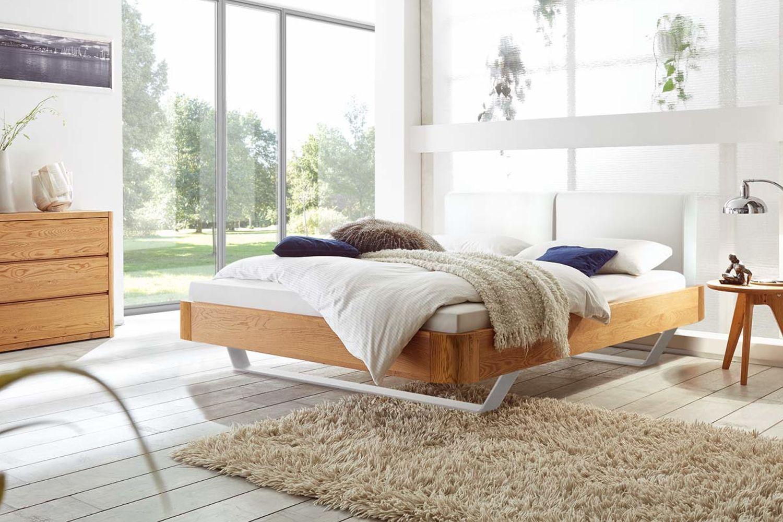 Hasena OAKLine Massivholzbett Slitto Bett aus paletten