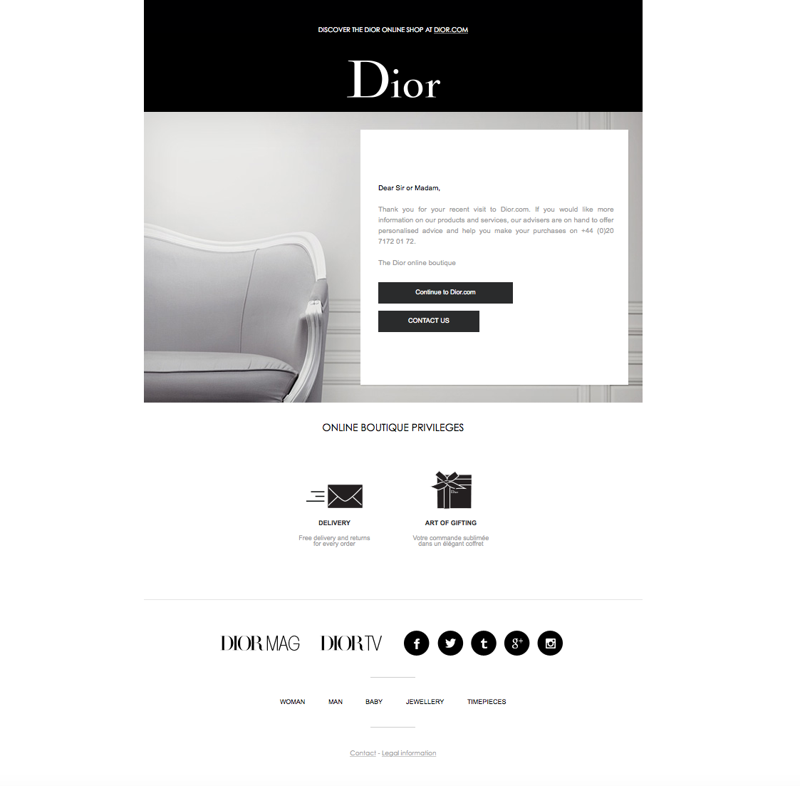 Thank You For Using The Dior Online Store Dior Online Online Boutique Dior