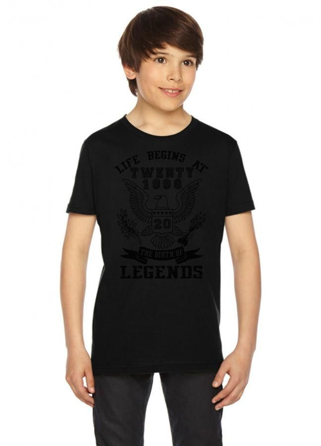 life begins at twenty 1996 the birth of legends Youth Tee