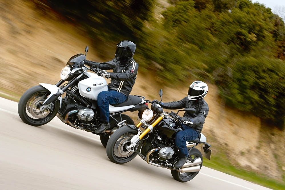 BMW R nineT vs BMW R1200 R