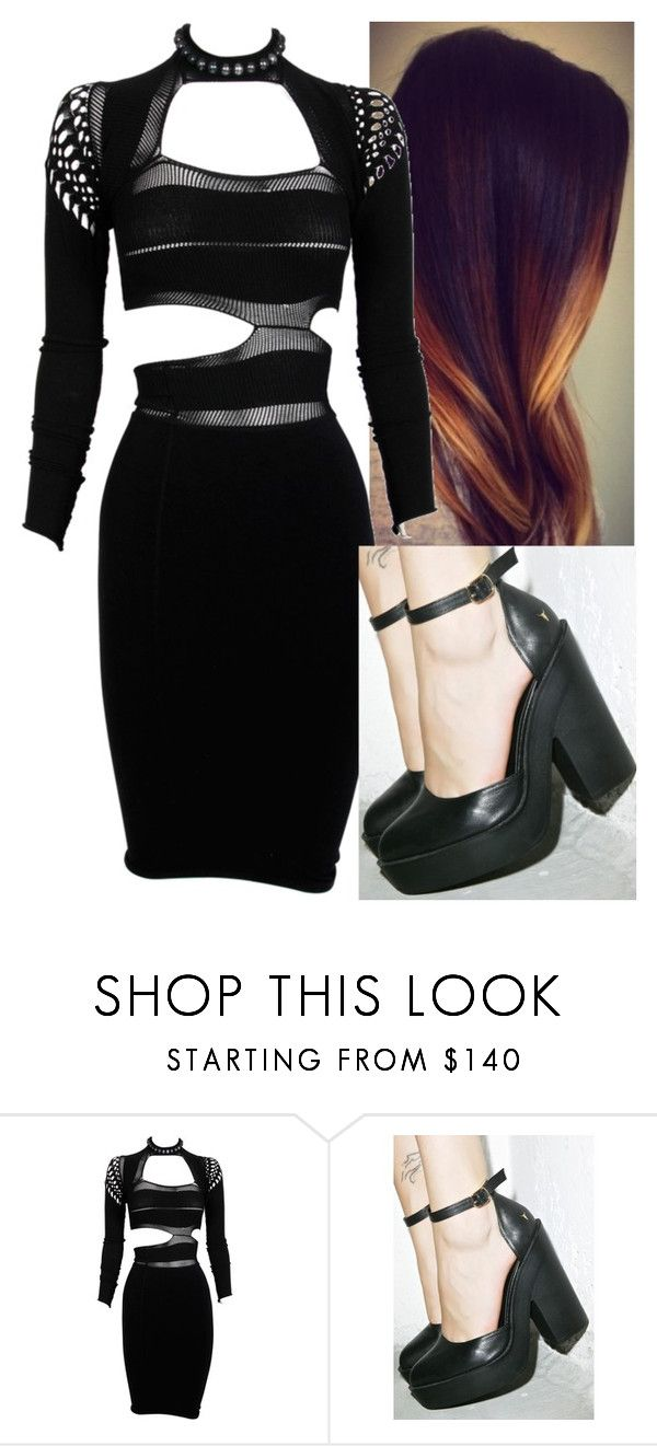 """Untitled #7256"" by carmellahowyoudoin ❤ liked on Polyvore featuring Mark Fast and Windsor Smith"