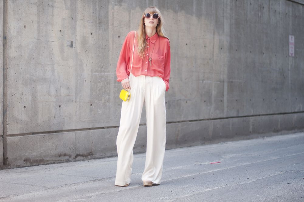 Lovely Lisa in MINIMARKET trousers