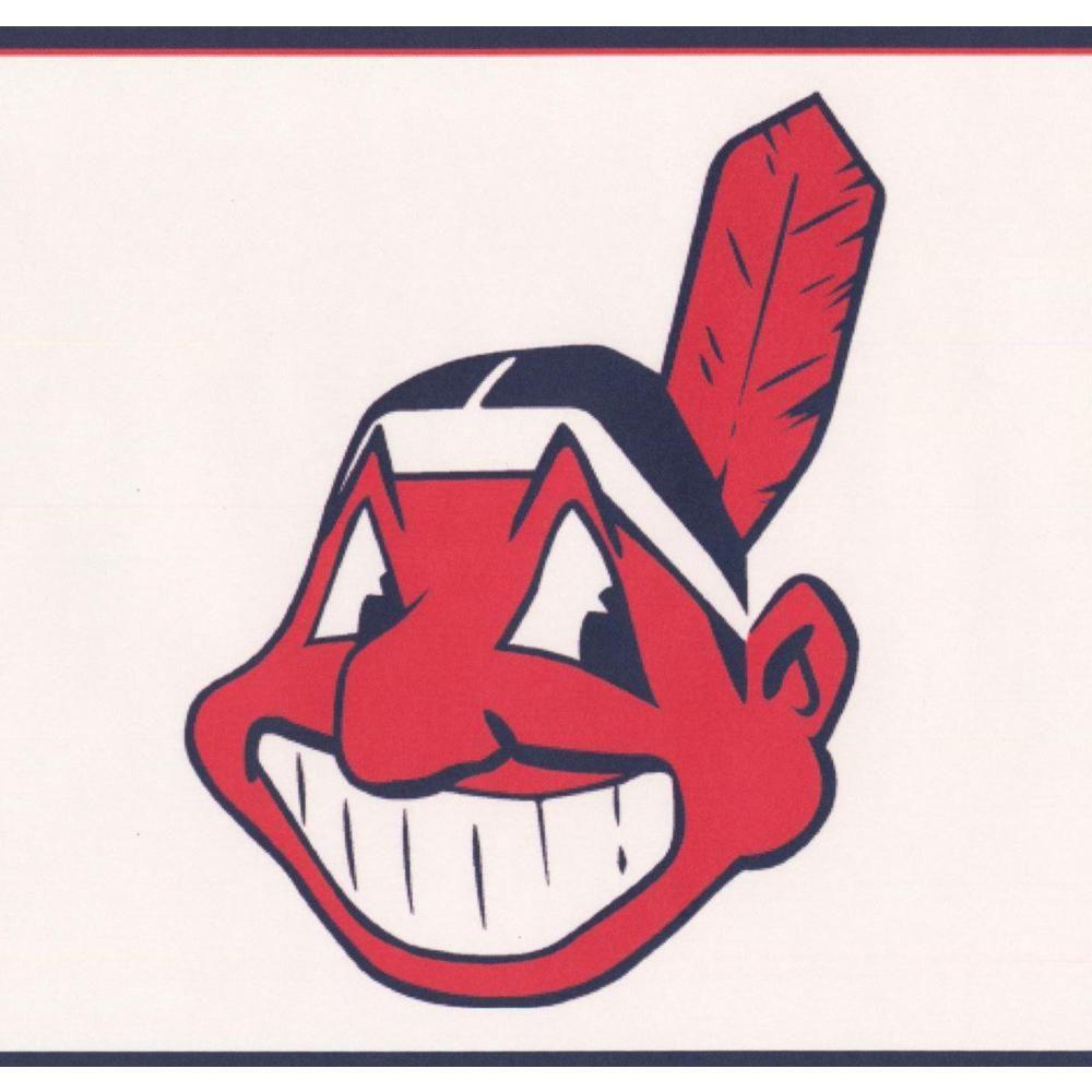 York Wallcoverings Cleveland Indians MLB Baseball Team Fan