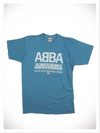 015fcdfa Vintage ABBA T-Shirt. via The Cools | Band shirts/other | Vintage ...