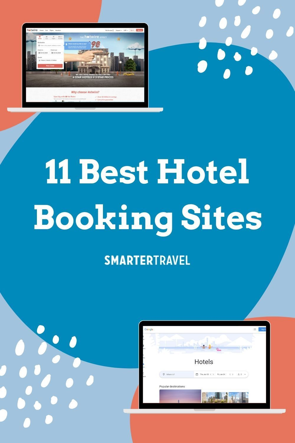 From metasearch engines that send you to company sites, to bookable OTAs (online travel agencies), to corporate hotel sites, the options for the best hotel booking sites can be overwhelming. But when doing your hotel search, deciding which sites to compare should depend on how often they offer the best hotel deals, and how you prefer to view and filter search results.