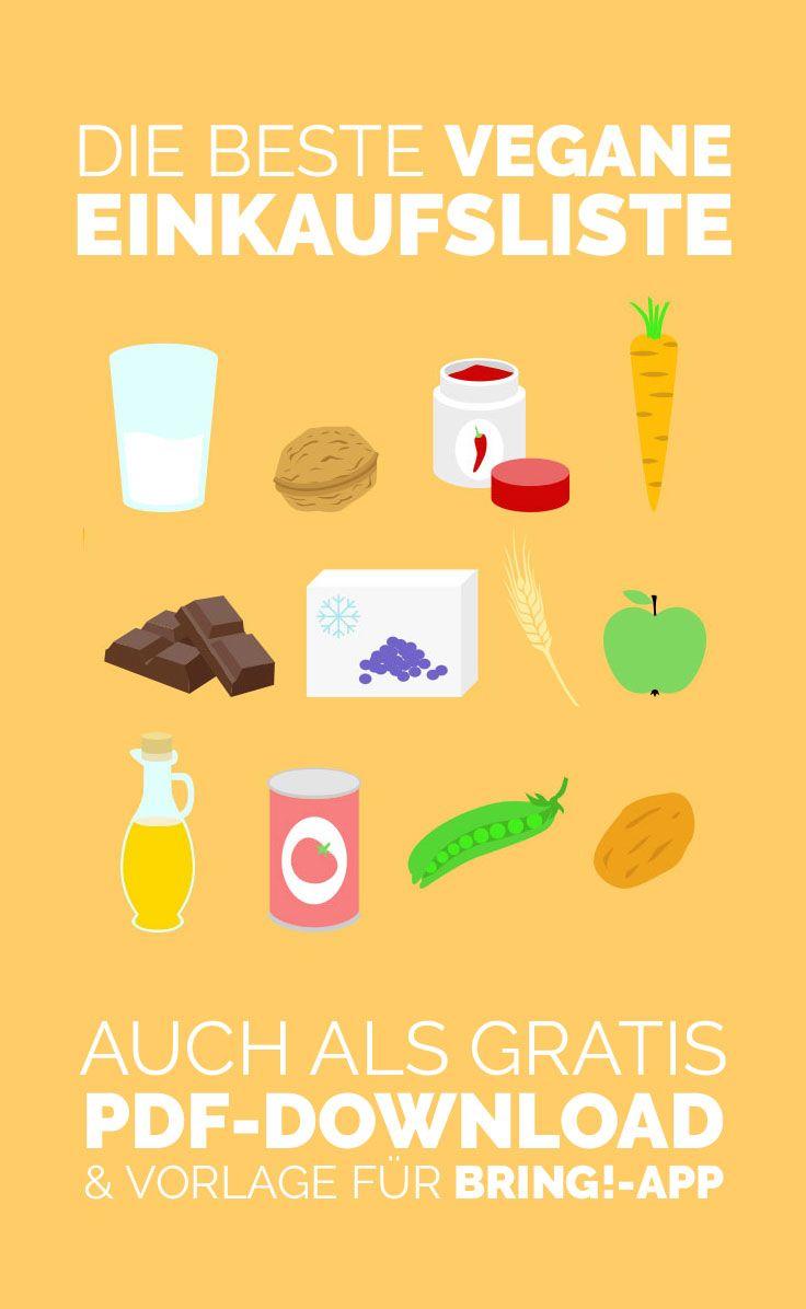 Die Beste Vegane Einkaufsliste Gratis Download Vegane Einkaufsliste Vegan Einkaufen Einkaufsliste