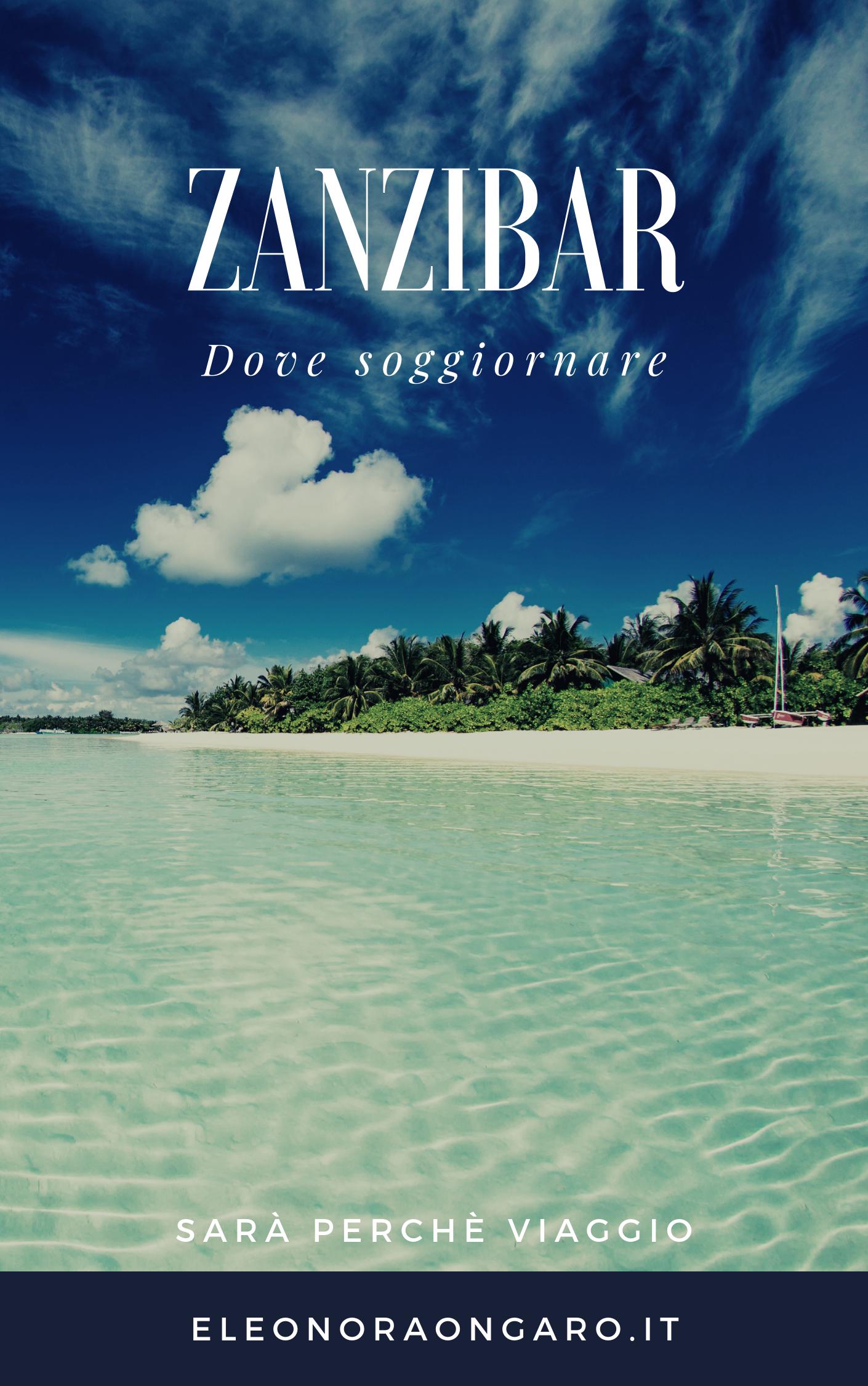 L\'isola di Zanzibar è caratterizzata dal fenomeno dell\'alta e bassa ...