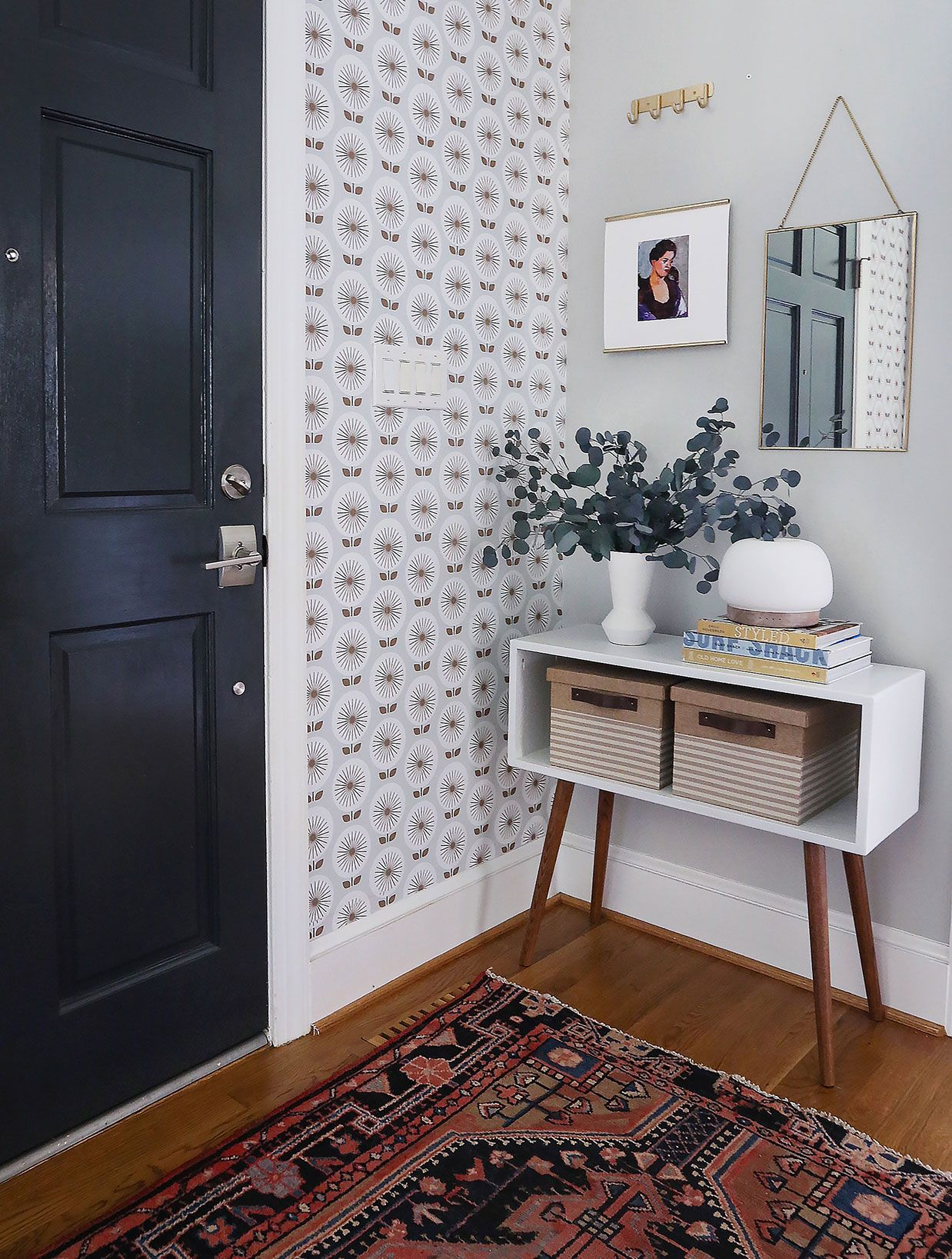 A Big Ol' Removable Wallpaper Roundup Entry furniture
