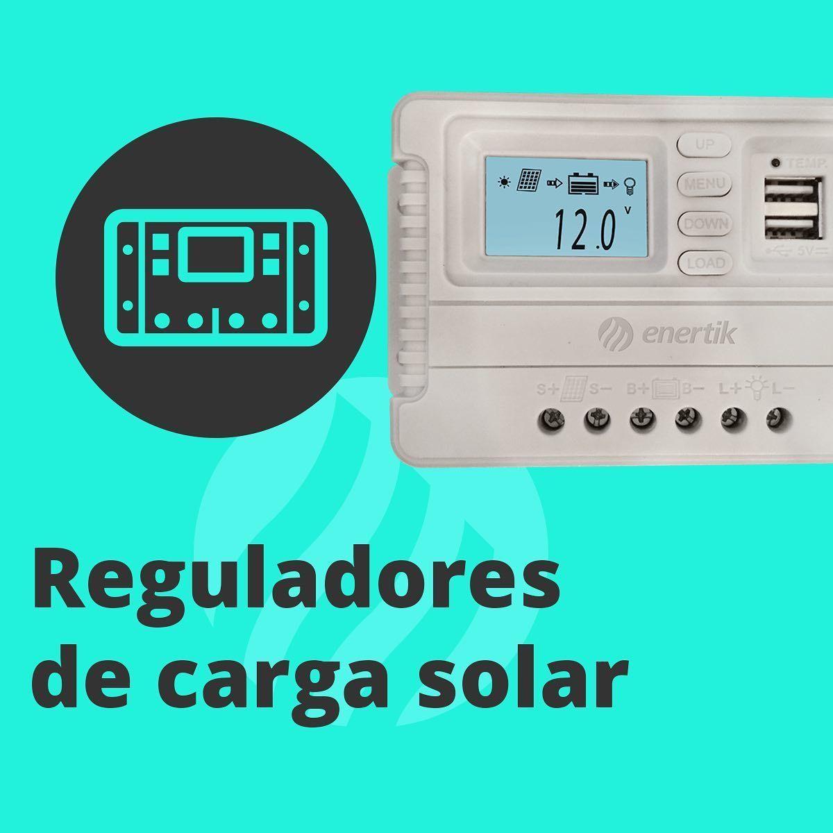 Reguladores De Carga Solar Disponibles En Pwm Y Mppt Precios Y Características En Https Enertik Cl Regulador Energía Renovable Energía Solar Celdas Solares