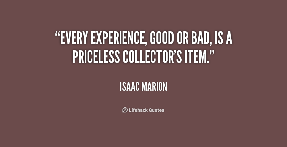 quotes about experience google search experience quotes