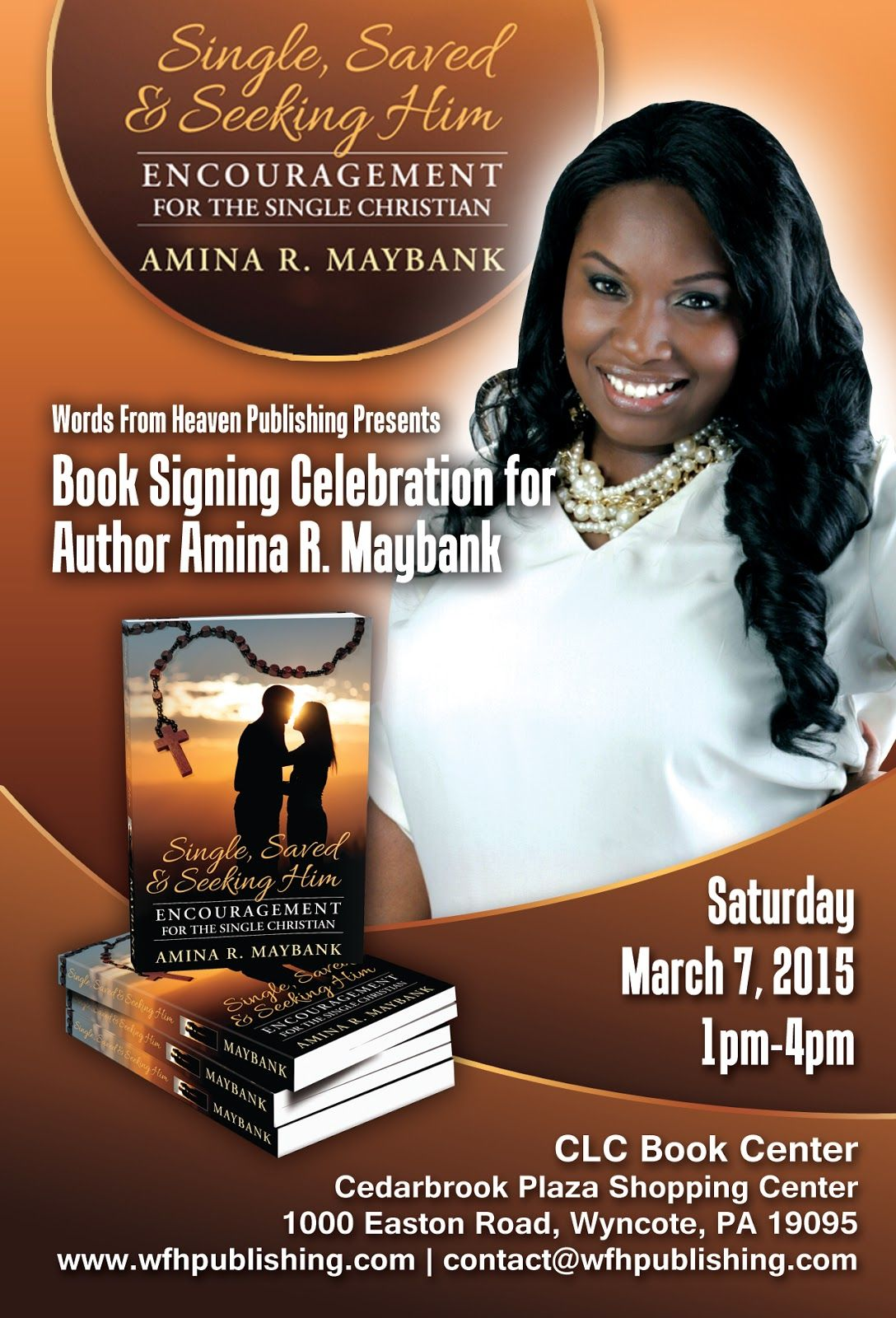 Author Book Signing Posters Words By Amina Book Signing Celebration Book Signing Book Signing Party Book Launch Ideas