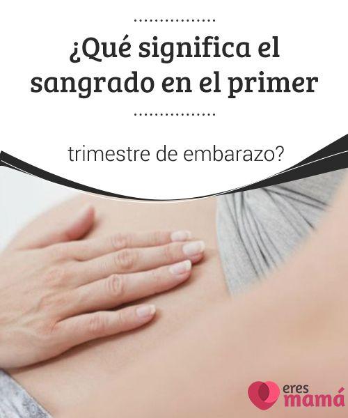 causas de sangrado en el tercer trimestre de embarazo