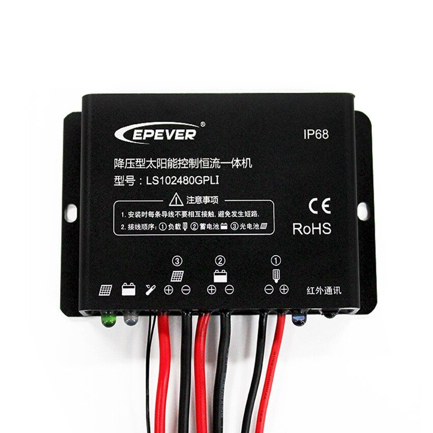 10A 12V 24V EPSOLAR LS102480GPLI Solar charger controller
